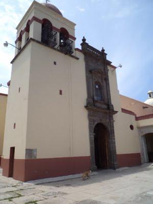 Parroquia de Matatlán, donde el Santo ejerció su ministerio pastoral.