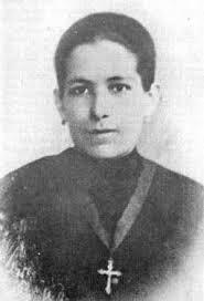Fotografía de la Santa en 1905, cuando ingresó en las Hijas de María.