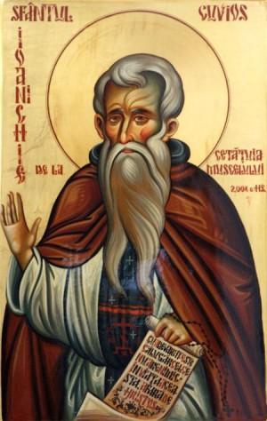 Icono ortodoxo rumano de San Juanucio el Nuevo de Muscel.