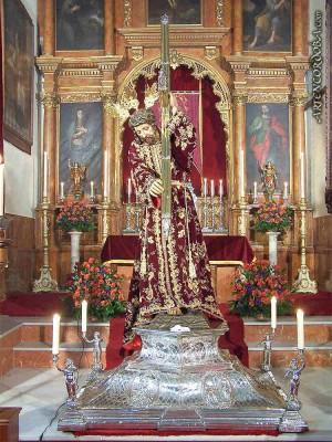 Jesús Nazareno de Córdoba. A sus pies estaba sepultado el Beato.