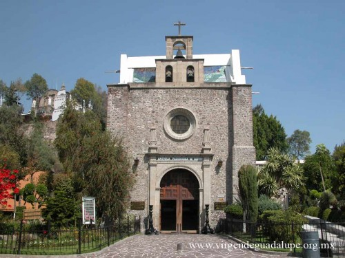 La Parroquia de indios, donde se supone esta o estuvo sepultado San Juan Diego. Fuente: www.virgendeguadalupe.org.mx