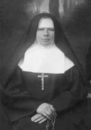 Fotografía de la Beata Lorenza (Leocadia Herasymiv), religiosa mártir ucraniana.