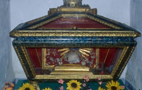 Reliquias del santo en Tirli (Florencia).