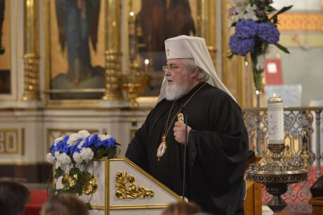 Su Eminencia Leo Makkonen, arzobispo de Karelia y de toda Finlandia.