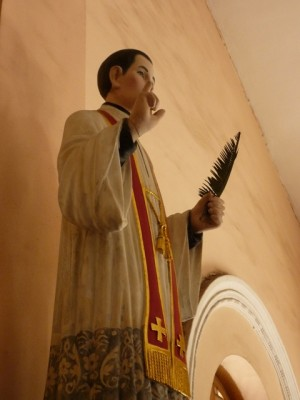 Imagen de San Pedro Tuan Ba Nguyen, sacerdote secular.