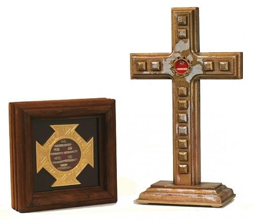 Reliquias de Santos mártires vietnamitas.