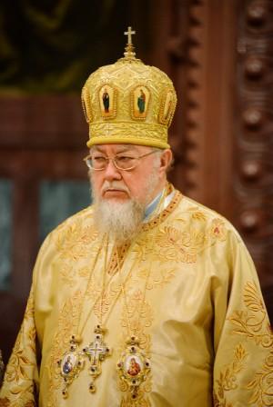 Su Beatitud Sawa Michal Hrycuniak, metropolita de Varsovia y de toda Polonia.