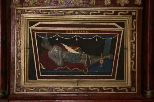 Antependio de San Flaviano mártir. Fotografía cortesía de Eduardo Limón.