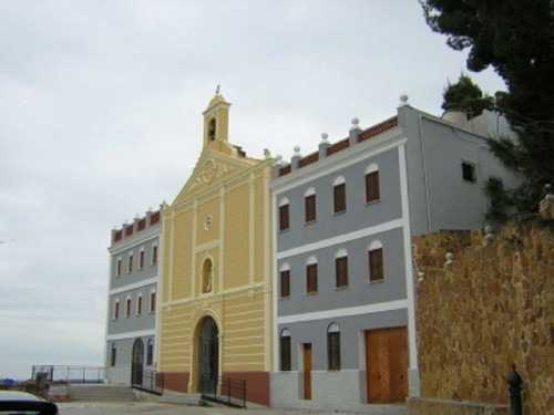 Ermita-santuario de la Virgen de Montiel, patrona de Benaguasil, Valencia (España).