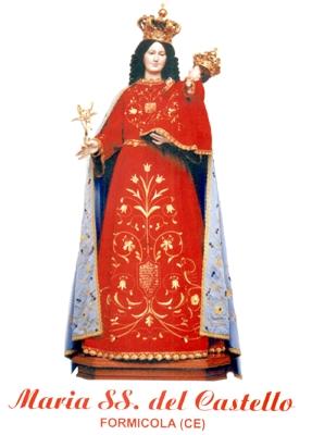 Imagen de la Virgen del Castillo venerada en Formicola, Italia.