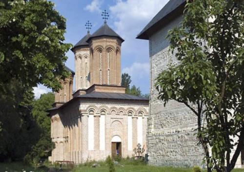 Vista del monasterio Snagov (Rumanía), donde el Santo fue abad.