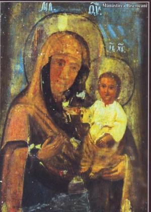 Icono de la Virgen que fue hallado en el roble por San José y sus discípulos.