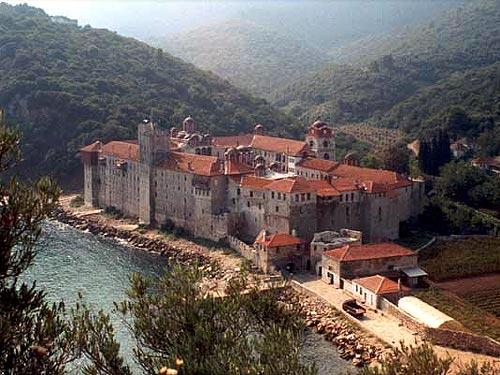 Monasterio Esfigmenou – Monte Athos, Grecia.