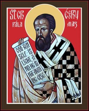 Icono ortodoxo anglosajón del Santo.