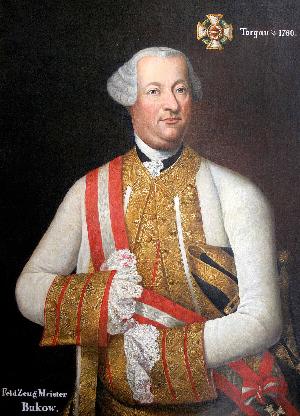 Retrato del general Bukow, al mando de las tropas austríacas en Rumanía.
