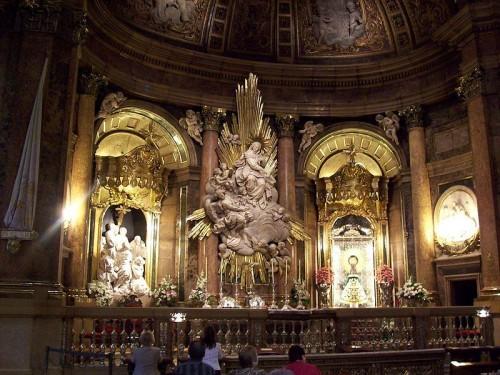 Santa Capilla de la Virgen. Basílica del Pilar, Zaragoza (España).