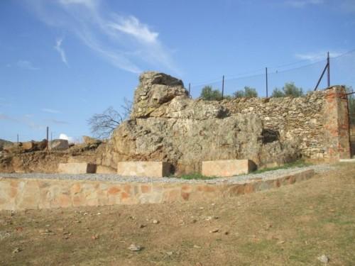 Piedra de Santiago. Guadalcanal (Sevilla)