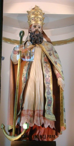 Imagen del Santo venerado la catedral de Guadalajara (México), obra de Mariano Perusquía.