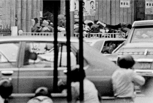 Matanza de las Gradas de la catedral, el 8 de mayo de 1979.