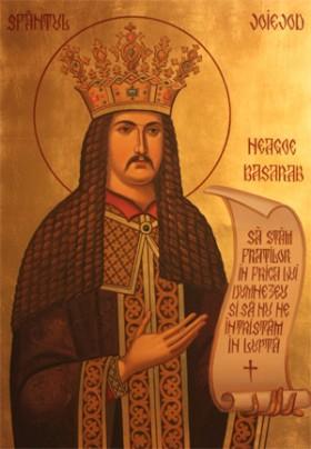 Icono ortodoxo rumano del Santo.