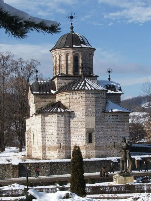 Iglesia de San Nicolás en Curtea de Arges (Rumanía), donde se cree que está el sepulcro del Santo.