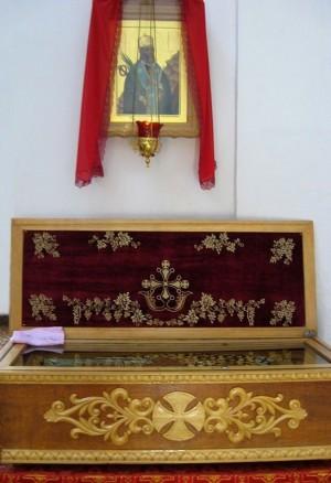 Relicario del Santo en Sebastopol, Ucrania.