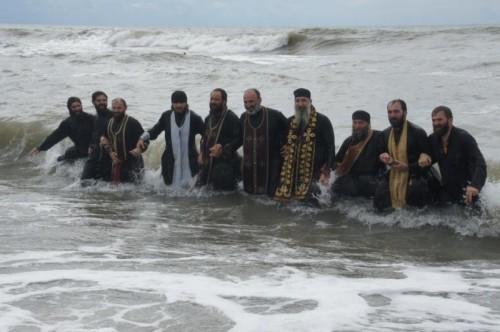 Celebración de la Teofanía en Georgia.
