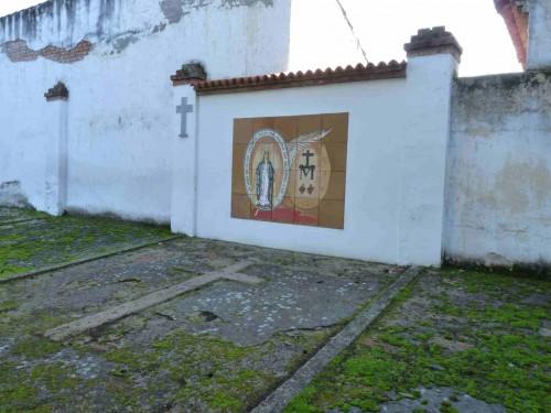 Fosa común del cementerio de Aravaca (Madrid) que alberga los restos de las cinco mártires.