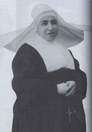 Fotografía de la Beata Estefanía Saldaña en su hábito de Hija de la Caridad.