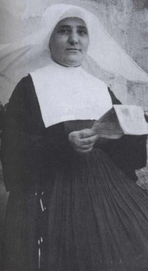Fotografía de la Beata Melchora Adoración Cortés, Hija de la Caridad mártir que encabeza la Causa.