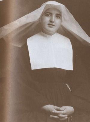 Fotografía de la Beata María Severina Díaz-Pardo en su hábito de Hija de la Caridad.