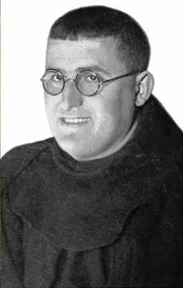 El padre Antonio, franciscano.