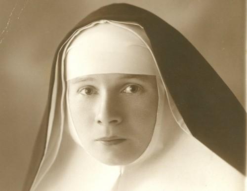 Fotografía de la Beata, tomada el año 1928, a los 29 años de edad.
