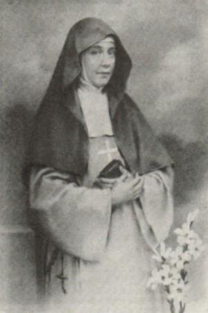 Estampa de la Venerable Angélica Juana María de Jesús.