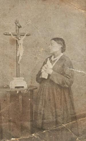 Fotografía de la Sierva de Dios Angélica Mastroti.