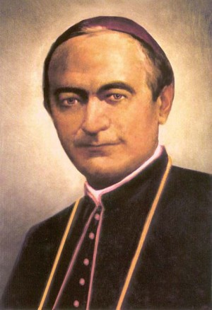 Estampa del Beato Eduardo José Rosaz.
