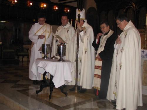 Fotografía de una celebración maronita.