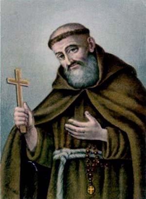 Estampa devocional del Siervo de Dios Inocencio Marcinnò de Caltagirone.