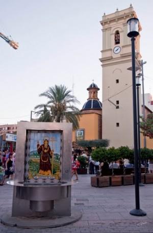 Iglesia parroquial de Alaquàs, Valencia (España).