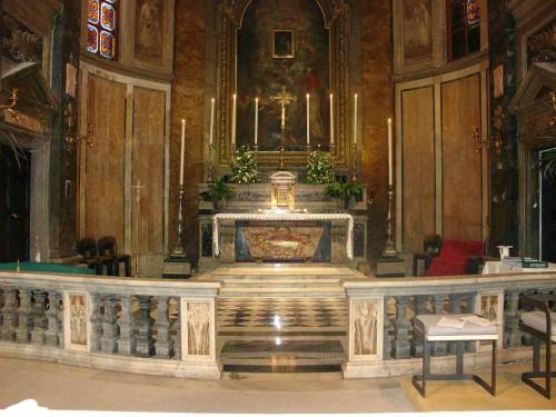 Vista del altar mayor.