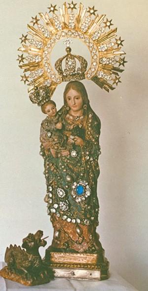 Verdadera y prodigiosa imagen de la Virgen del Olvido, Triunfo y Misericordias.