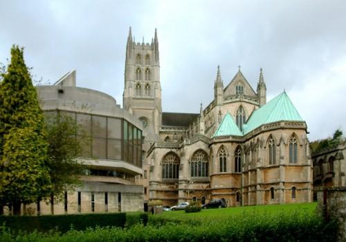 Abadía de Downside, en Inglaterra.