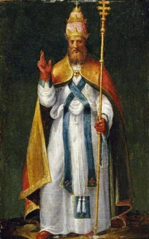 Lienzo del Santo, obra de Bernardino Campi.