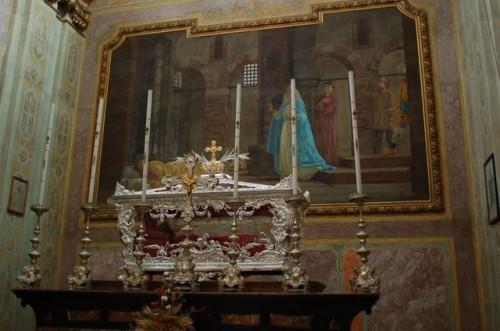 Cripta de San Mamés en Cavaglio d'Agnona (Italia).