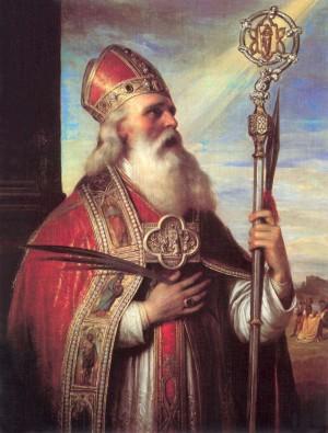 Óleo del Santo, obra de Mihály Kovács (1818-1892).