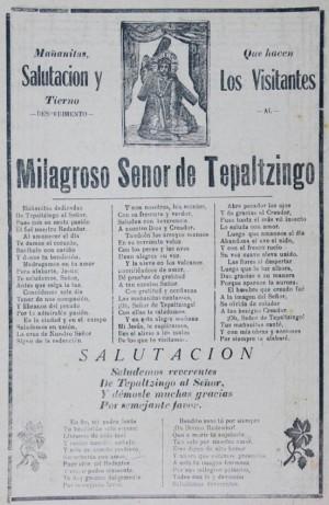 Alabanzas al Señor de Tepalcingo, principios del siglo XX. Obra de José Guadalupe Posada.