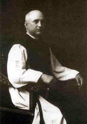Fotografía del Beato en su hábito de monje jerónimo.