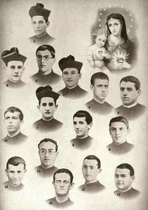Beatos mártires claretianos de Fernán Caballero.