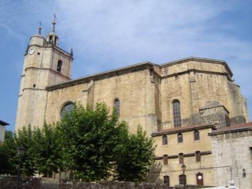 Parroquia de Santa María del Juncal en Irún, España. Primera parroquia del Siervo de Dios.