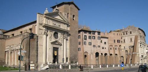 Vista de la Basílica. Roma, Italia.